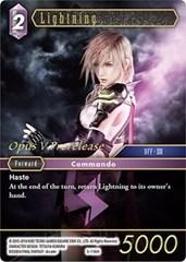 Lightning - PR-027/5-116H - Foil - Prerelease Promo