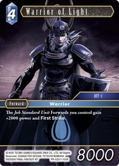 Warrior of Light - PR-020/1-155R