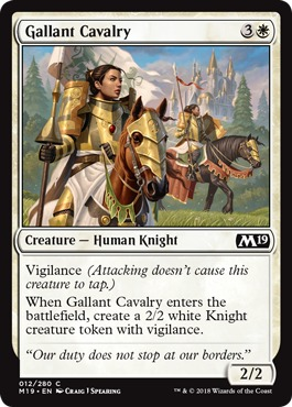 Gallant Cavalry - Foil