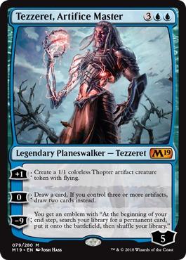 Tezzeret, Artifice Master - Foil