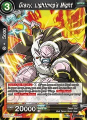 Gravy, Lightning's Might - BT4-113 - UC