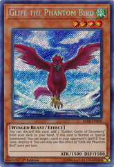 Glife the Phantom Bird - BLRR-EN008 - Secret Rare - 1st Edition