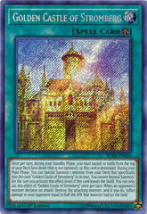 Golden Castle of Stromberg - BLRR-EN010 - Secret Rare - 1st Edition on Channel Fireball