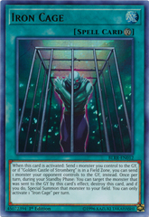 Iron Cage - BLRR-EN012 - Ultra Rare - 1st Edition