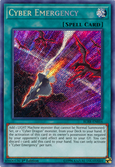 Cyber Emergency - BLRR-EN016 - Secret Rare - 1st Edition