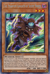 The Phantom Knights of Silent Boots - BLRR-EN062 - Secret Rare - 1st Edition