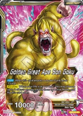 Golden Great Ape Son Goku - SD5-01 - ST