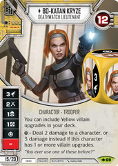 Bo-Katan Kryze - Deathwatch Lieutenant  (Sold with Premium Die)