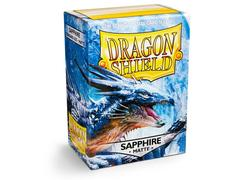 Dragon Shield Box of 100 in Sapphire