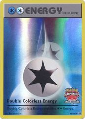 Double Colorless Energy - 90/108 - Latin America Championships Promo