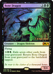 Bone Dragon (Core Set 2019 Prerelease Foil)