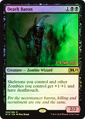 Death Baron (Core Set 2019 Prerelease Foil)