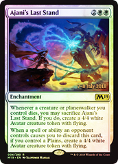 Ajani's Last Stand (M19 Prerelease Foil) 7-8 July 2018