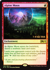 Alpine Moon (Core Set 2019 Prerelease Foil)