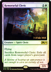 Remorseful Cleric (Core Set 2019 Prerelease Foil)
