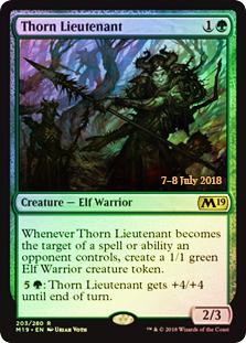 Thorn Lieutenant (M19 Prerelease Foil)