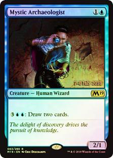 Mystic Archaeologist - Foil - Prerelease Promo