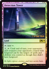 Detection Tower - Foil - Prerelease Promo