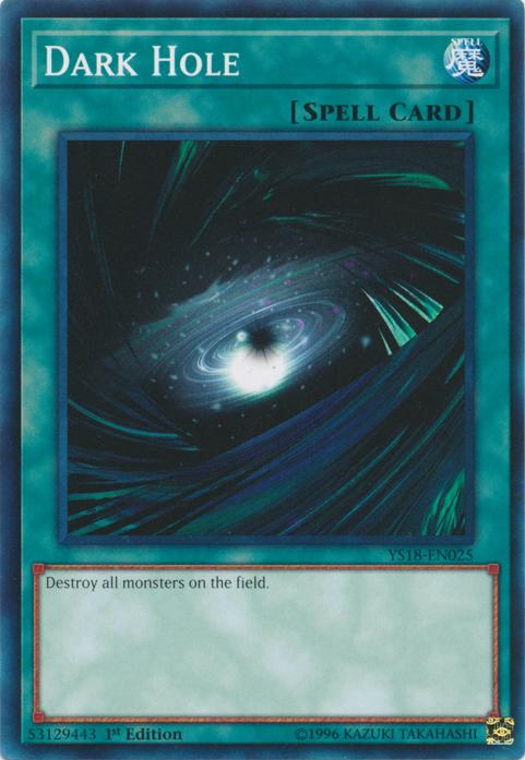 Dark Hole - YS18-EN025 - Common - 1st Edition