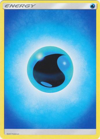 Water Energy - Reverse Holo