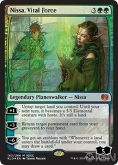 Nissa, Vital Force - Foil - SDCC 2018 Exclusive