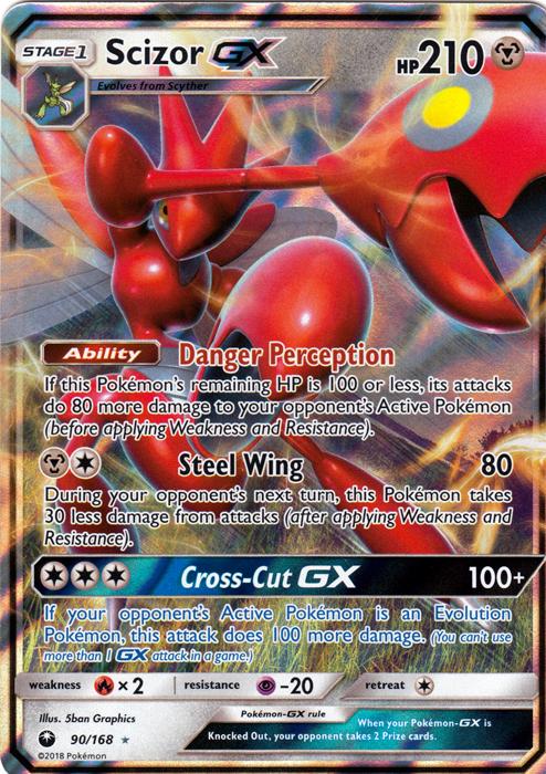 Scizor GX - 90/168 - Ultra Rare