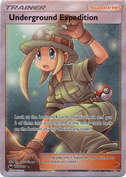 Underground Expedition - 168/168 - Ultra Rare - Full Art