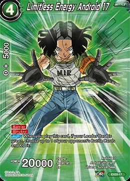 Limitless Energy Android 17 - EX03-17 - EX