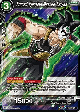 Forced Ejection Masked Saiyan - EX03-27 - EX
