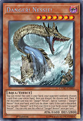 Danger! Nessie! - CYHO-EN083 - Secret Rare - 1st Edition