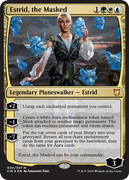 Estrid, the Masked - Foil
