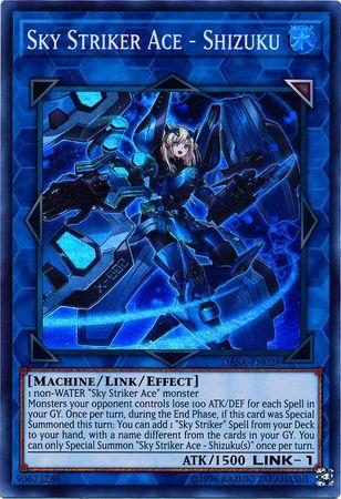 Sky Striker Ace - Shizuku - DASA-EN028 - Super Rare - Unlimited