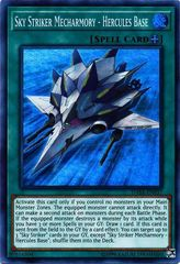 Sky Striker Mecharmory - Hercules Base - DASA-EN037 - Super Rare - Unlimited