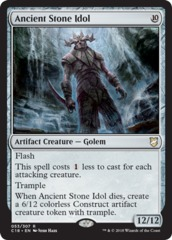 Ancient Stone Idol on Channel Fireball