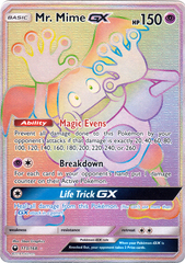 Mr. Mime GX - 173/168 - Secret Rare