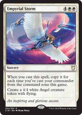 Akroma/'s Vengeance Commander 2018 NM White Rare MAGIC GATHERING CARD ABUGames