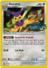 Delcatty - SM132 - Staff Prerelease Promo
