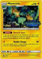 Manectric - SM130 - Staff Prerelease Promo
