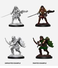 Pathfinder Battles Unpainted Minis - Female Half-Elf Ranger