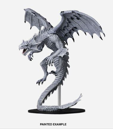 Pathfinder Battles Unpainted Minis - Gargantuan White Dragon