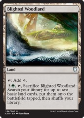 Blighted Woodland on Channel Fireball