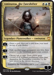 Aminatou, the Fateshifter - Foil Oversized