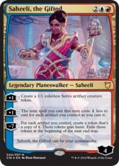 Saheeli, the Gifted - Foil Oversized