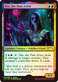 Nin, the Pain Artist - Foil DCI Judge Promo
