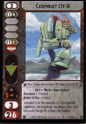 Cataphract (CTF-1X)
