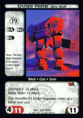 Daishi Prime Dire Wolf