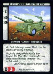 Thor Mobile Artillery