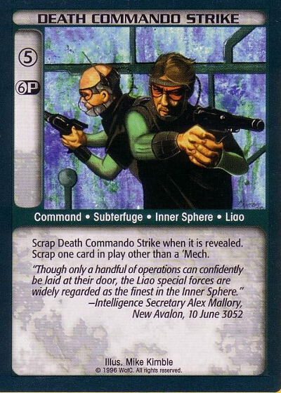 Death Commando Strike