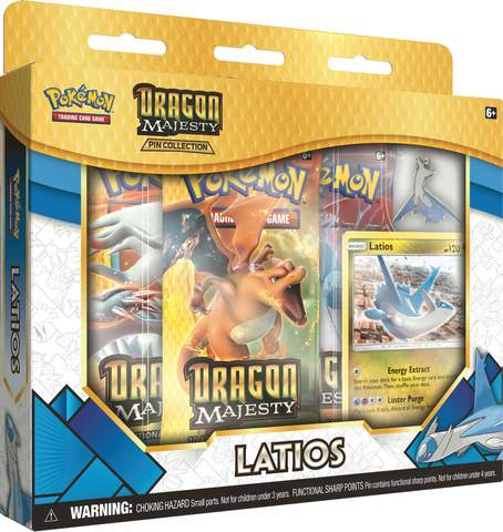 Dragon Majesty Pin Collection - Latios