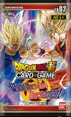 Dragon Ball Super TCG - World Martial Arts Tournament Booster Pack (TB02)